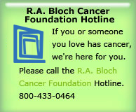 Bloch Cancer Hotline