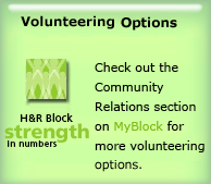Volunteering and Charitable Giving Options